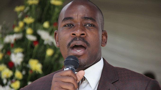 Law society slams Chamisa