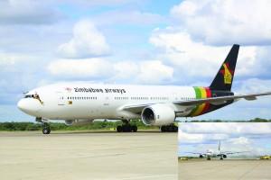 Zimbabwe receives B777 planes
