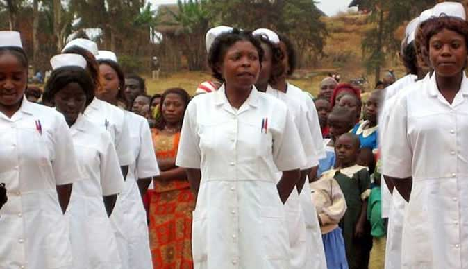 Nurses embark on countrywide strike