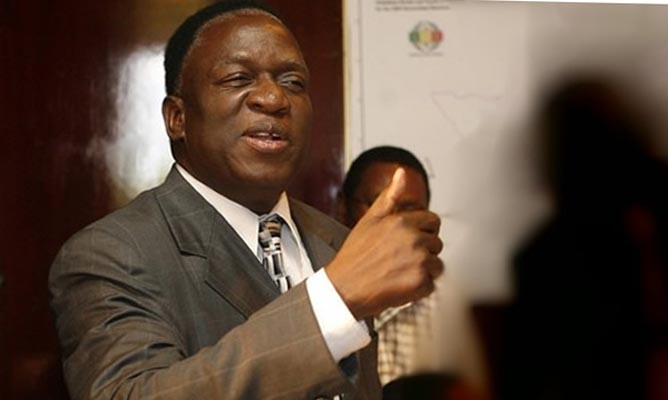 Mnangagwa urges business players to produce quality products