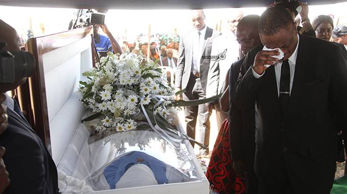 UPDATED: Acting President's sister laid to rest