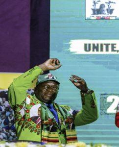PICS: Zimbabwe's Mnangagwa launches election campaign