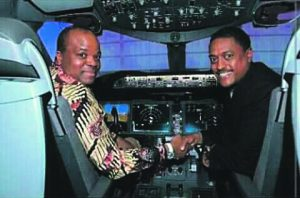 The Swazi king's R2.7bn plane and parking space