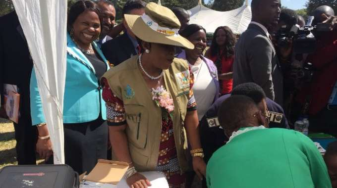 First Lady launches HPV vaccination programme