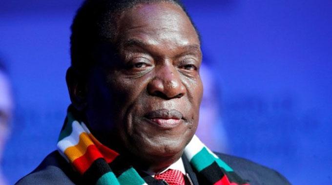 Zimbabwe president's 'extravagant' briefcase sets twitter ablaze