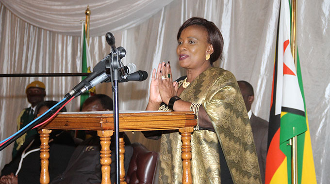 First Lady pays tribute to partners