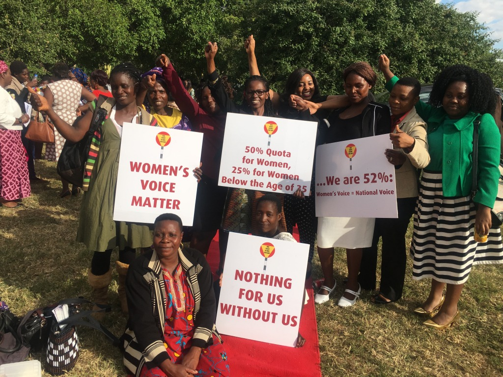 Making a case for 25 % Young women's Quota in Zimbabwe