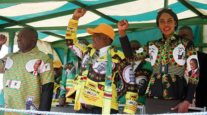 Be patient, says VP Chiwenga