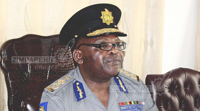 Matanga reads riot act to errant police officers