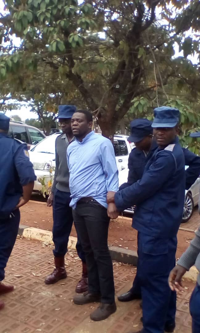 WATCH: Police arrest Zim opposition leader