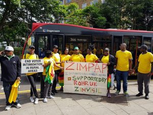 Walking the talk – Zimbabwe Vigil Diary