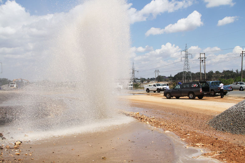 Harare in drive to reduce water loss