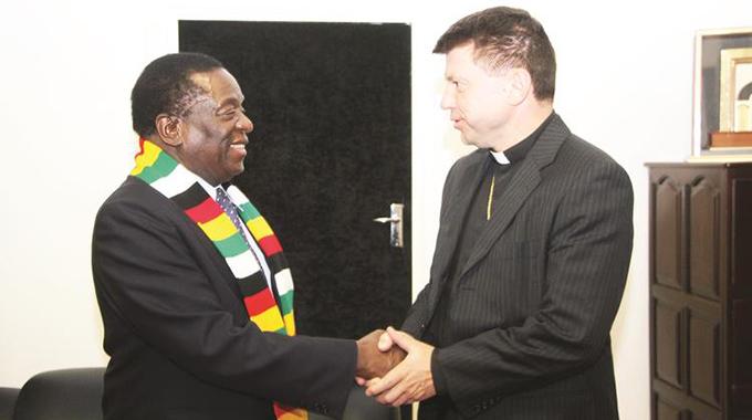 Zim conducive for polls: Vatican envoy