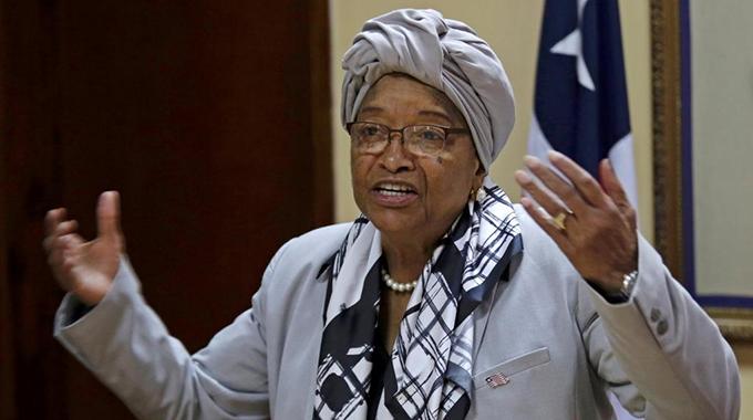 Sirleaf heads for Zim