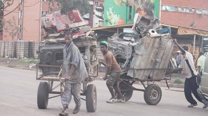 Millions lost through scrap metal exports