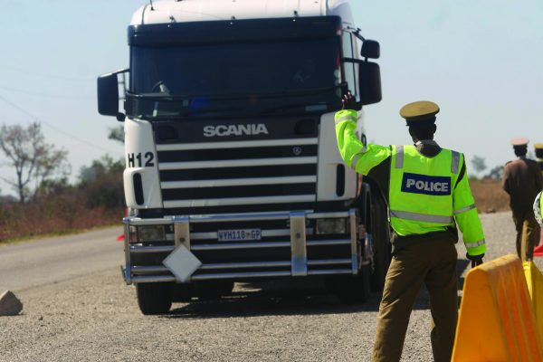 Chaos reigns as police disappear