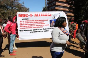 MDC Aliance Petition on Urgent Electoral demands