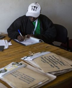 PICS: Zimbabwe's tainted election authority under fire again