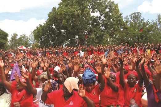 MDC Alliance attracts mammoth crowd in Mutare