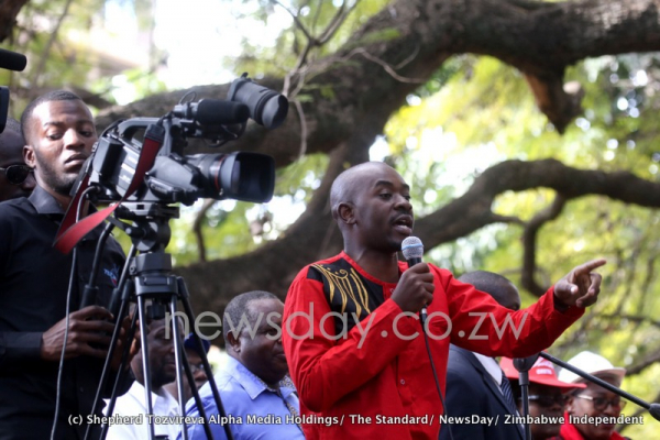 More pictures of the MDC alliance demo