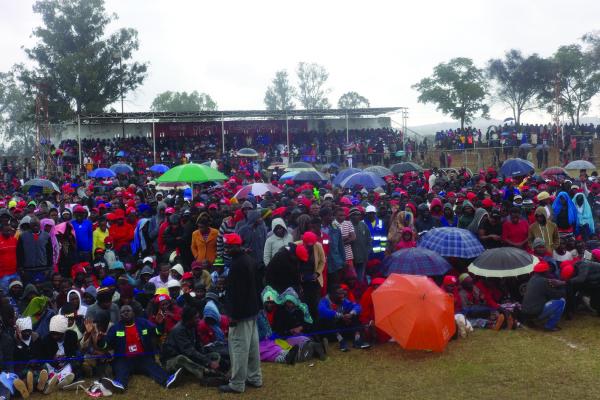 Rains: harbinger of good things for  MDC Alliance?