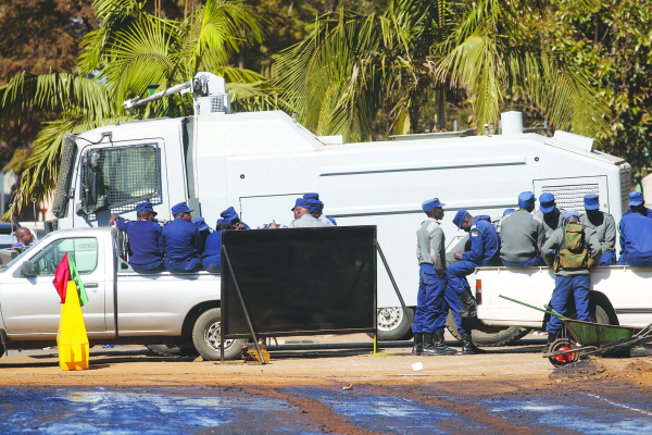 Police seal off Zec offices
