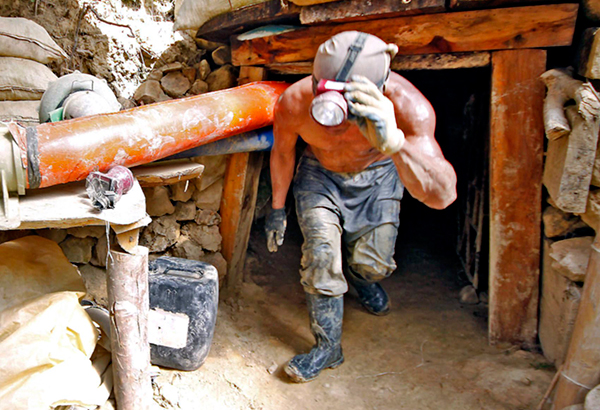 Formulate environment policy to control small-scale miners