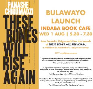 Panashe Chigumadzi launches These Bones Will Rise Again