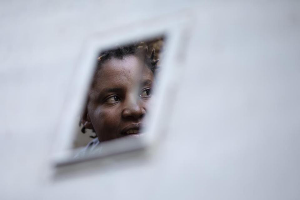 A broken woman reflects the soul of Zimbabwe