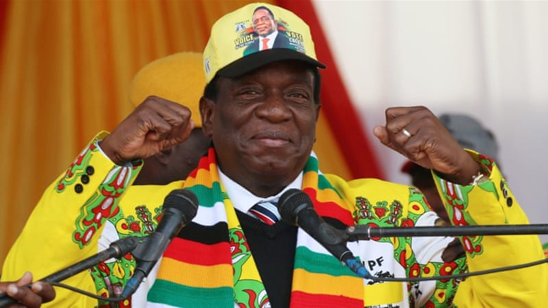 Mnangagwa has promised to bring in foreign investment and create jobs [File: Philimon Bulawayo/Reuters]
