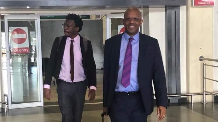 Dali Mpofu in Zimbabwe work permit poser