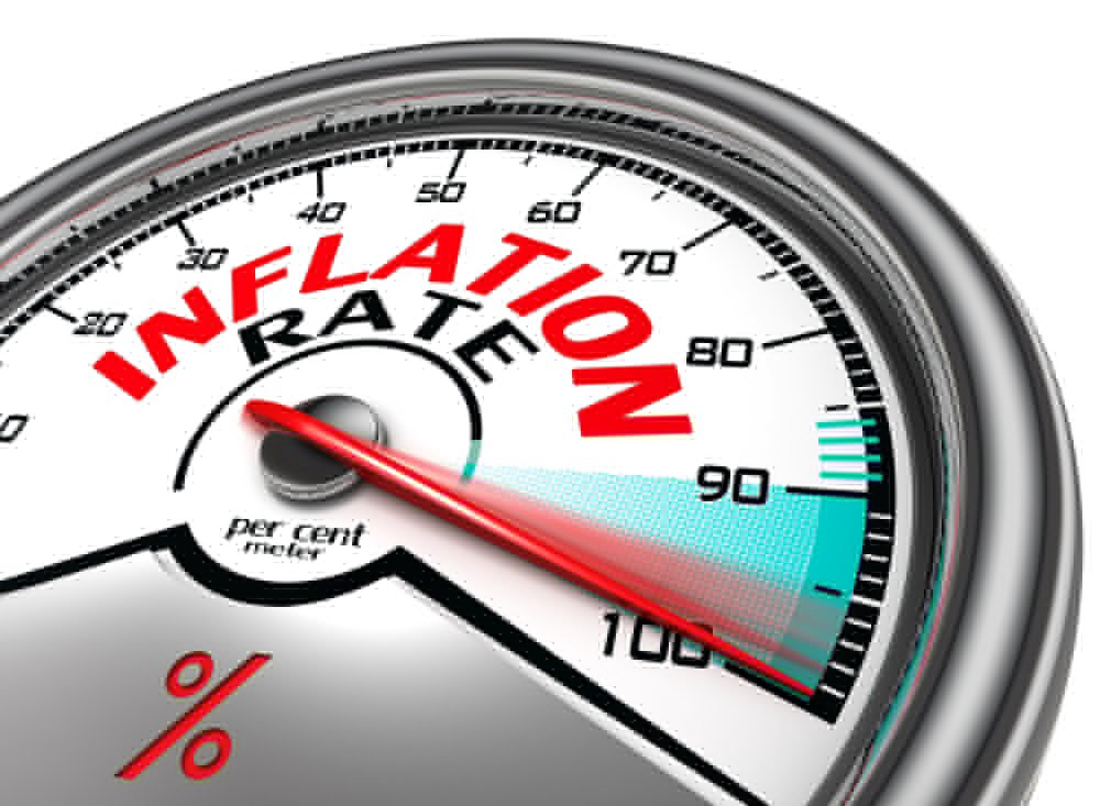 Inflation rate hits 4% in 18 months