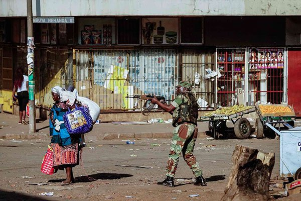 Zimbabwe's Military Junta Shows its True Colors to the World