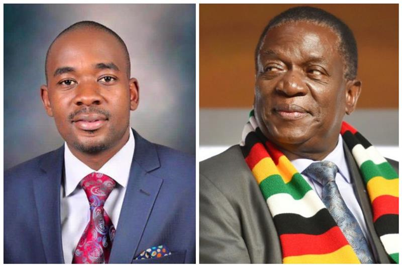 Harare Emmerson Mnangagwa The Leader Of The Ruling Zanu Pf Party Has Been Declared The Winner Of Zimbabwes Presidential Election