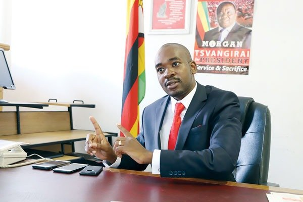 Police block Chamisa rally