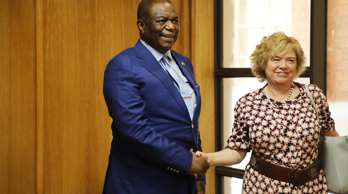 Envoy hails improved UK-Zim ties