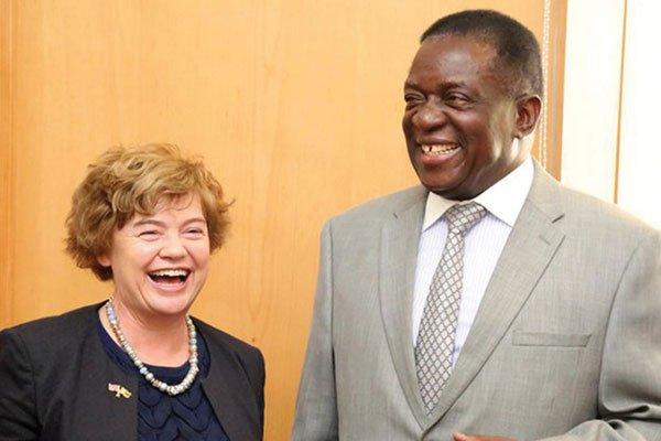 Britain drives Zim's reconstruction plan