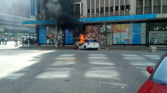 BREAKING: Man shot dead in Harare CBD