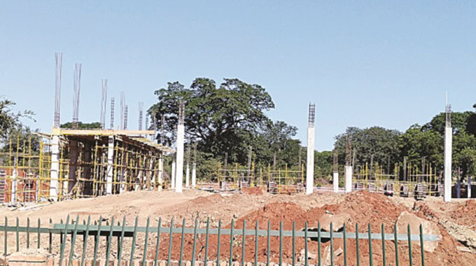 Vic Falls mall ahead of schedule