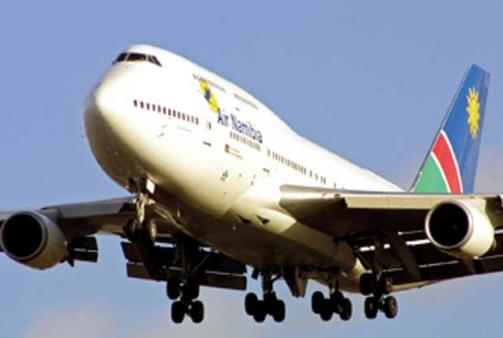 Man attaches Air Namibia plane after being dumped from flight