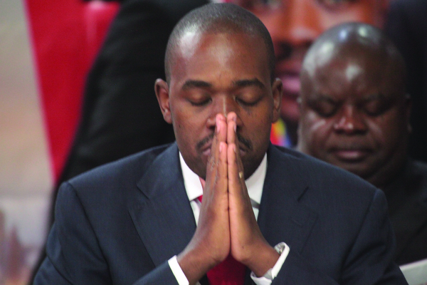 Chamisa AU poll push goes cold