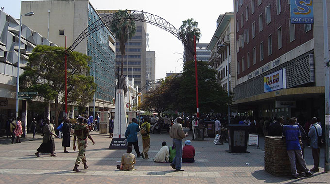 Smart street vision . . . City council, Econet mull First Street facelift