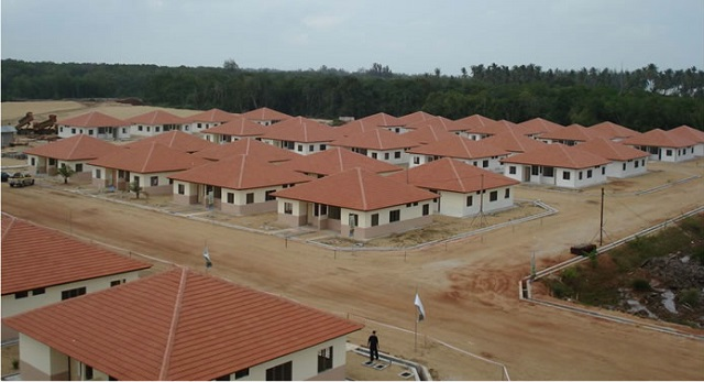 A housing project