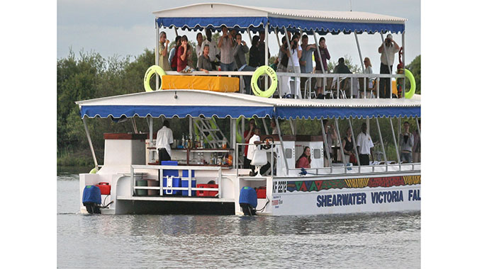 New cruise boat for Vic Falls