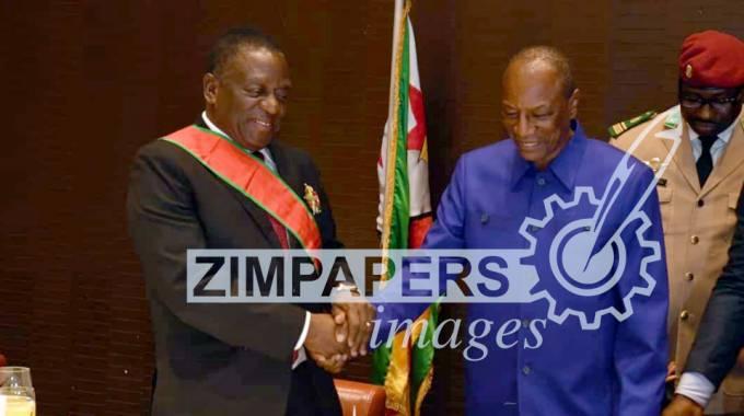 JUST IN: ED honoured in Guinea
