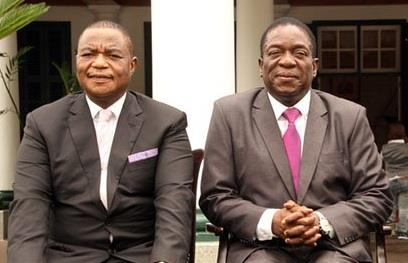 Harare President Emmerson Mnangagwa And Ailing Vice President Constantino Chiwenga Appeared Together To Announce That Australias Invictus Energy Had