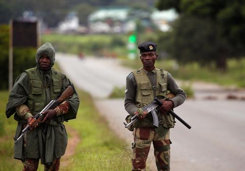 The US Embassy in Harare expressed concern over the reports of violence in parts of Zimbabwe, urging all parties to exercise restraint. Picture: Reuters/Philimon Bulawayo