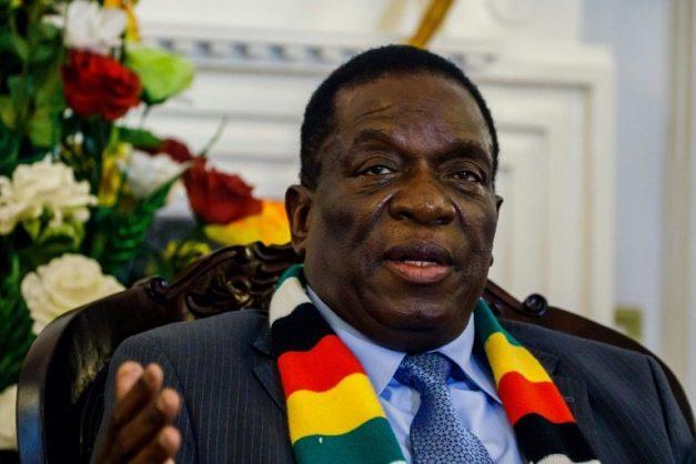 Mnangagwa scrapped plans to attend the Davos summit of world leaders this week. AFP/File/Jekesai NJIKIZANA