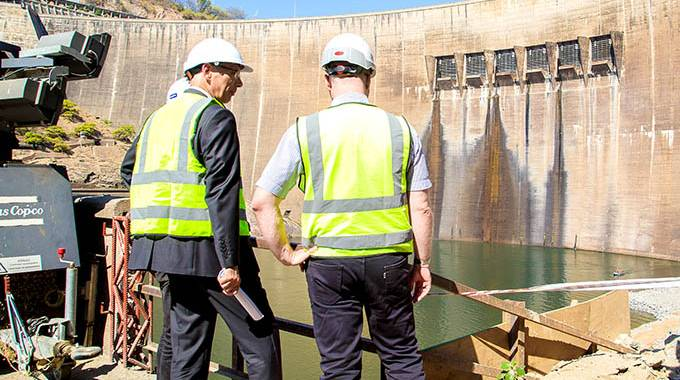 Restoring an icon – Kariba Dam rehabilitation means business