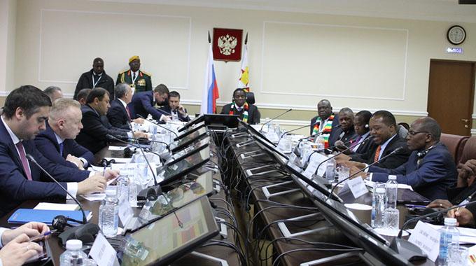 President talks up mega deals